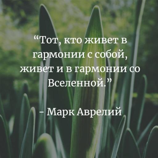 Марк Аврелий про счастье
