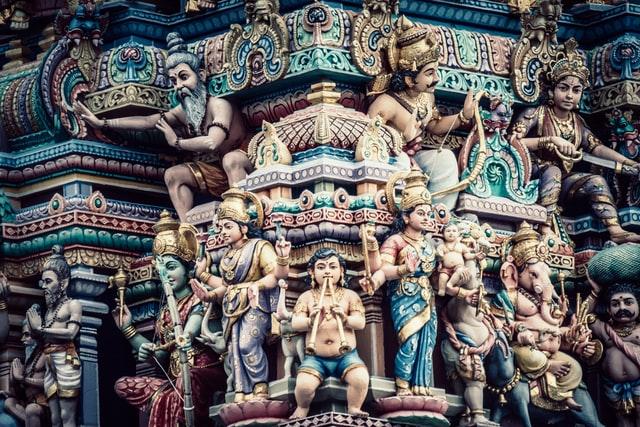 Часть буддистского храма